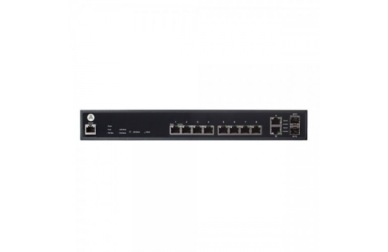Open Mesh S8 8-Port PoE+ Cloud-Managed Switch (150W)