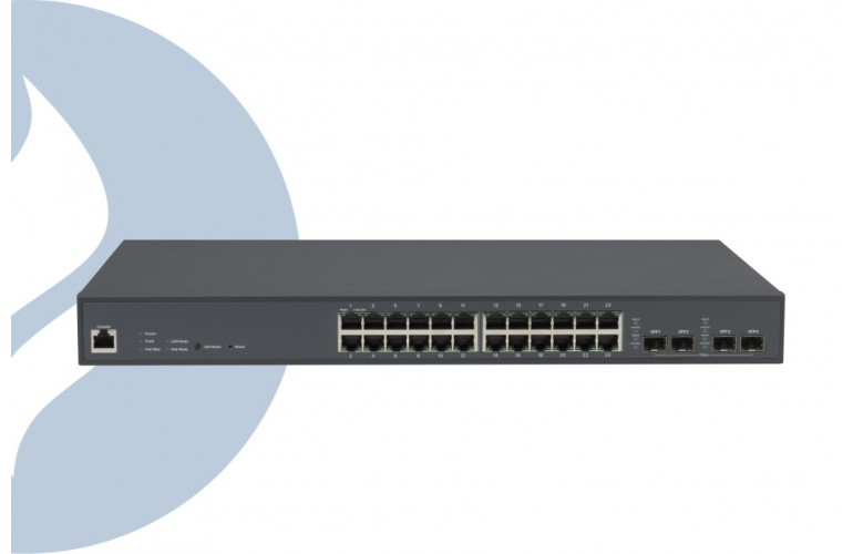 Plasma Cloud PS24-L 250W PoE Cloud Managed Network Switch